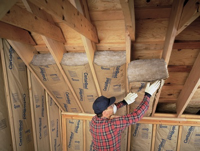 Insulation and home building